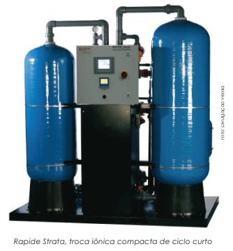 Desmineralizador em conjunto com osmose reversa e eletrodeionização contínua: água de alta pureza