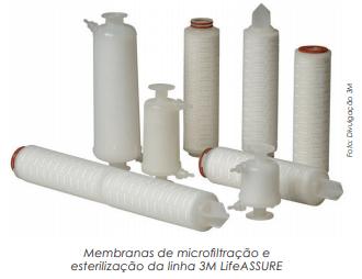 Sistema de filtração para a indústria farmacêutica