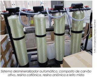 Água de qualidade para fabricar cosméticos evita contaminações