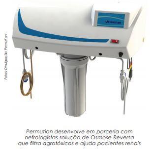 Solução de osmose reversa filtra agrotóxicos e ajuda pacientes renais; e o uso  de OR na hemodiálise